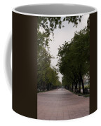 Park Leading To The King Of Thailands Palace Coffee Mug