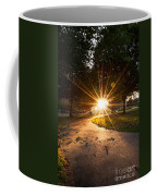 Park Sunburst Portrait Coffee Mug