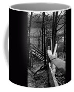 Park Trail Bw Coffee Mug