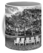 Park Under The Oaks Coffee Mug by Debra and Dave Vanderlaan