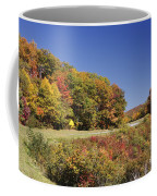 Parkway Road In North Carolina Coffee Mug