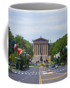 Parkway View Of The Museum Of Art Coffee Mug