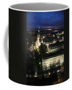 Parlament Quebec At Night  Coffee Mug