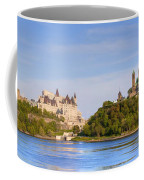 Parliament Buildings And The Fairmont Coffee Mug