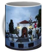 Parraquia De San Amaro. Puerto De La Cruz By Night Coffee Mug