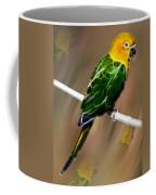 Parrot Beauty Digital Artwork Coffee Mug