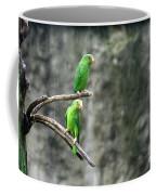 Parrots In The Rain Coffee Mug
