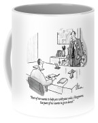 Part Of Me Wants To Help You With Your Crisis Coffee Mug