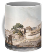 Part Of The City Of Patna, On The River Coffee Mug