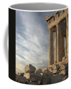Parthenon From The South Coffee Mug