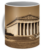 Parthenon In Sepia 3 Coffee Mug