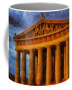 Parthenon On A Stormy Day Coffee Mug by Dan Sproul