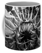 Partial Eclipse Of The Sunflower - Bw Coffee Mug
