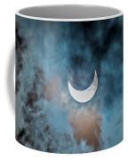 Partial Solar Eclipse In Cloud 1 Oct Coffee Mug