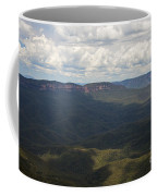 Partly Cloudy Day In The Blue Mountains Coffee Mug