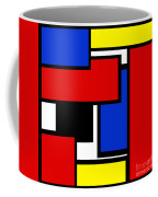 Partridge Family Abstract 1 C Square Coffee Mug