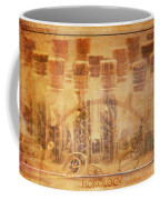 Parts Of Time Coffee Mug by Fran Riley
