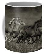 Paso Peruvian Horses On The Run Coffee Mug