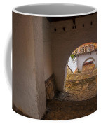 Passageway In Colonial Town Coffee Mug