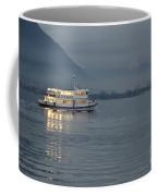 Passanger Ship At Night Coffee Mug