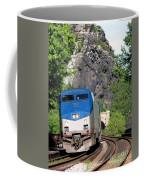 Passenger Train Locomotive Coffee Mug