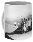 Passengers Boarding Airplane Coffee Mug by Underwood Archives