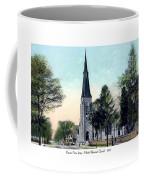 Passiac New Jersey - Norht Reformed Church - 1910 Coffee Mug