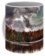 Passing Storm Over Cary Lake Coffee Mug by David Patterson