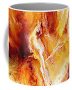 Passion - Abstract Art Coffee Mug by Jaison Cianelli