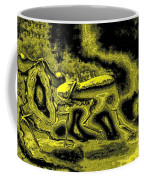 Passion In Grainy Gold Coffee Mug