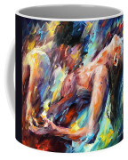 Passion - Palette Knife Figures Of Lovers Oil Painting On Canvas By Leonid Afremov Coffee Mug