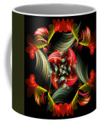 Passionate Love Bouquet Abstract Coffee Mug