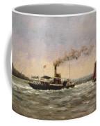 Past On The Medway Coffee Mug