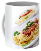 Pasta And Tomato Sauce Coffee Mug