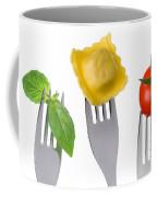 Pasta Tomato And Basil Coffee Mug