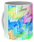 Pastel Abstract Patterns V Coffee Mug