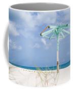 Pastel Beach Frame Coffee Mug