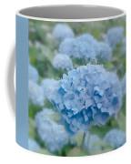 Pastel Blue Hydrangea Coffee Mug
