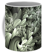 Pastel Garden Abstract Coffee Mug