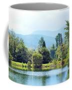 Pastoral Pond And Valley Coffee Mug