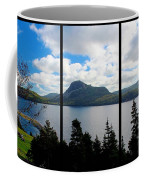 Pastoral Scene By The Ocean Triptych Coffee Mug