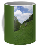 Pasture Land At Ashford-in-the-water Coffee Mug