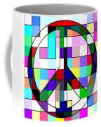 Patch Peace Coffee Mug