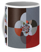 Patchwork Craze - Abstract - Triptych Coffee Mug