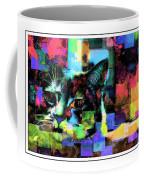Patchwork Kitty Coffee Mug