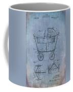 Patent Art Baby Carriage 1922 Mahr Denim Coffee Mug