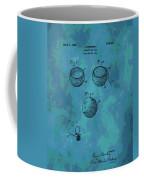 Patent Art Golf Ball Coffee Mug