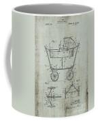 Patent Art Mahr Baby Carriage 1922 Green Coffee Mug