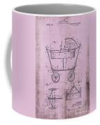 Patent Art Mahr Baby Carriage 1922 Pink Coffee Mug