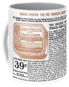 Patent Medicine Ad, 1890s Coffee Mug